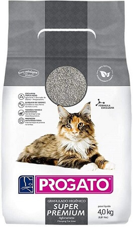 como cuidar de gatos granulado sanitário argila bentonita progato super premium