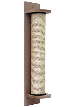como cuidar de gatos arranhador vertical de sisal