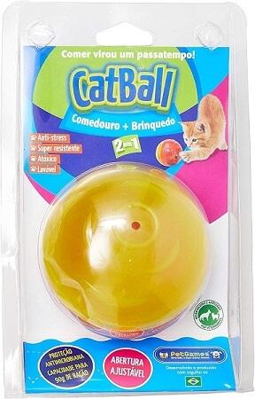como cuidar de gatos comedouro bolinha e brinquedo