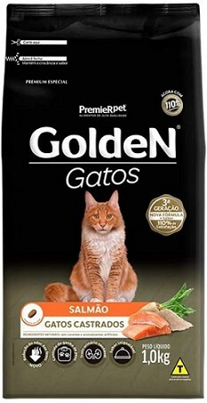 como cuidar de gatos ração premium golden