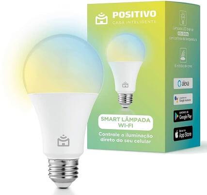 lâmpada inteligente positivo