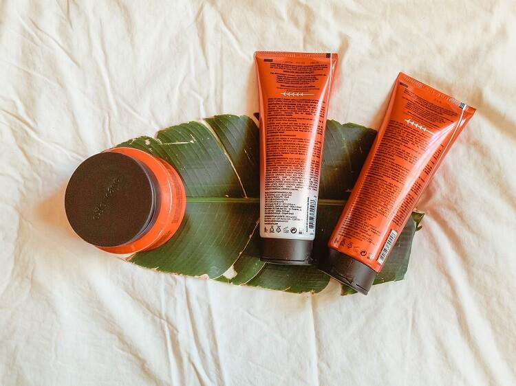 Produtos para cabelos: shampoo, condionador e máscara