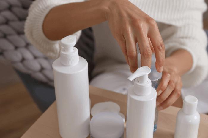opções de hidratante para pele seca