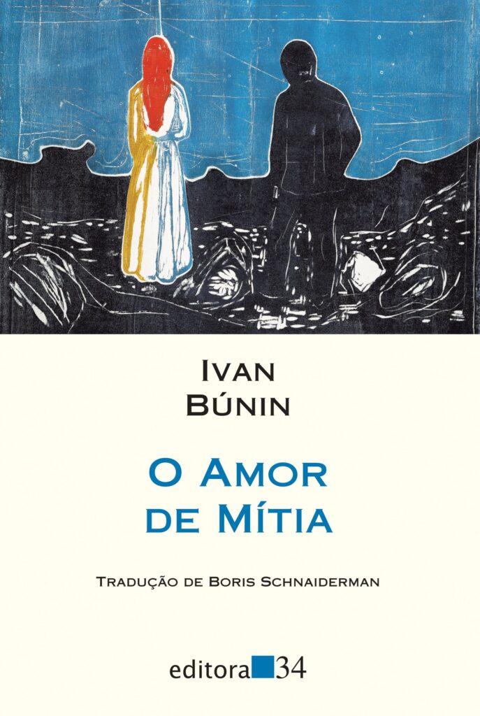Capa do livro O Amor de Mítia de Ivan Búnin.