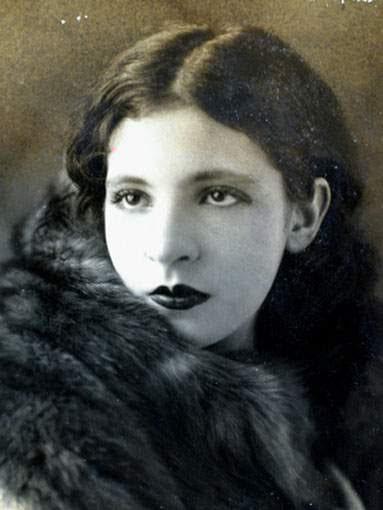 Retrato de Pagu durante a década de 1920. Foto: Autor desconhecido/domínio público.