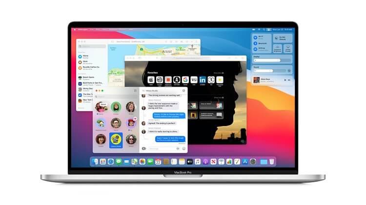 Tela de MacBook M1