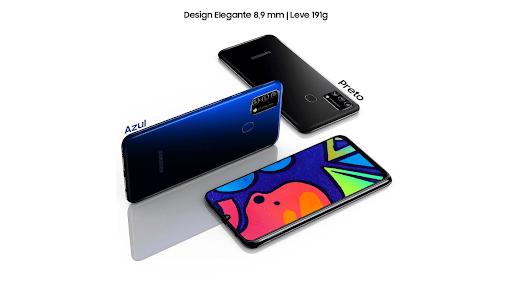 Celular Galaxy m21s da Samsung.
