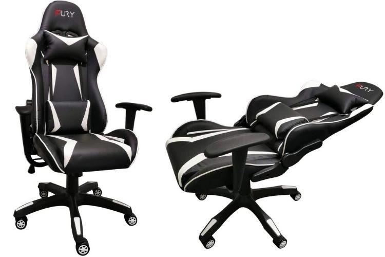 Cadeira Fury preta