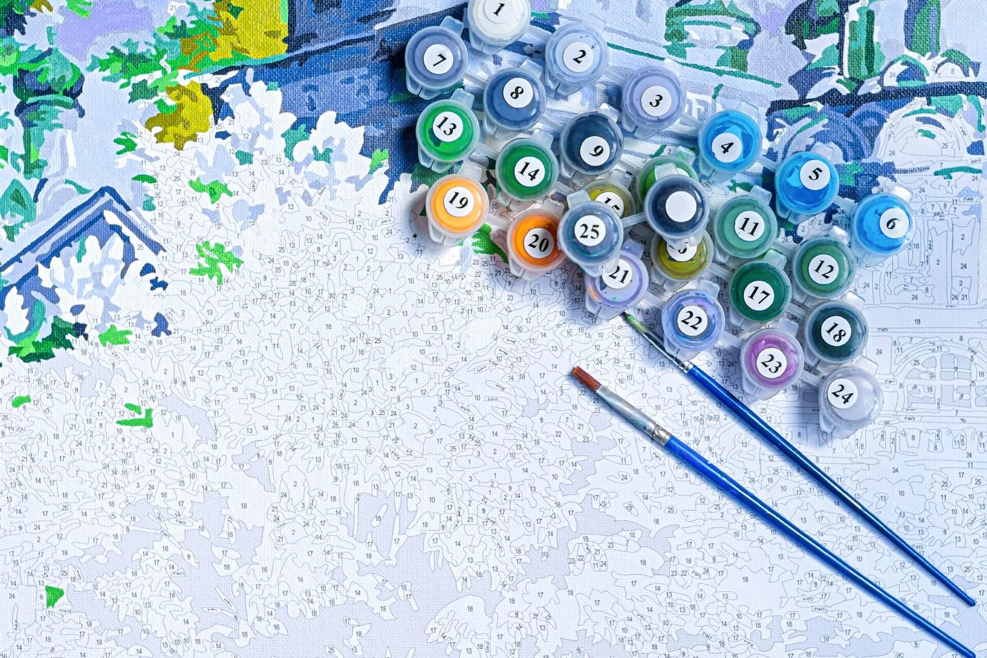 Kit De Pintura Por Números