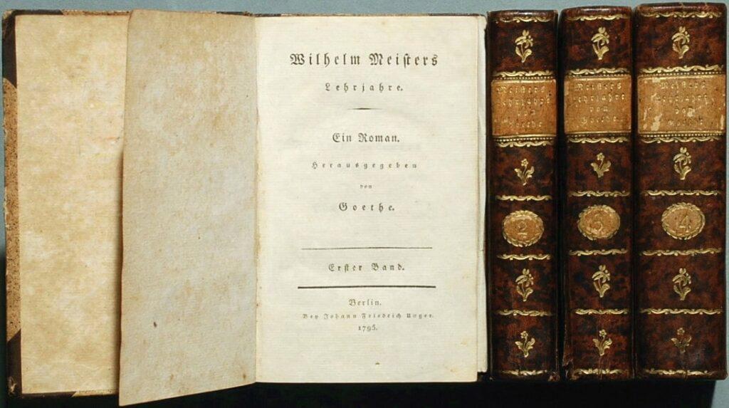 bildungsroman Os Anos de Aprendizado de Wilhelm Meister