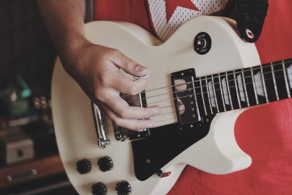 guitarra para iniciantes  les paul
