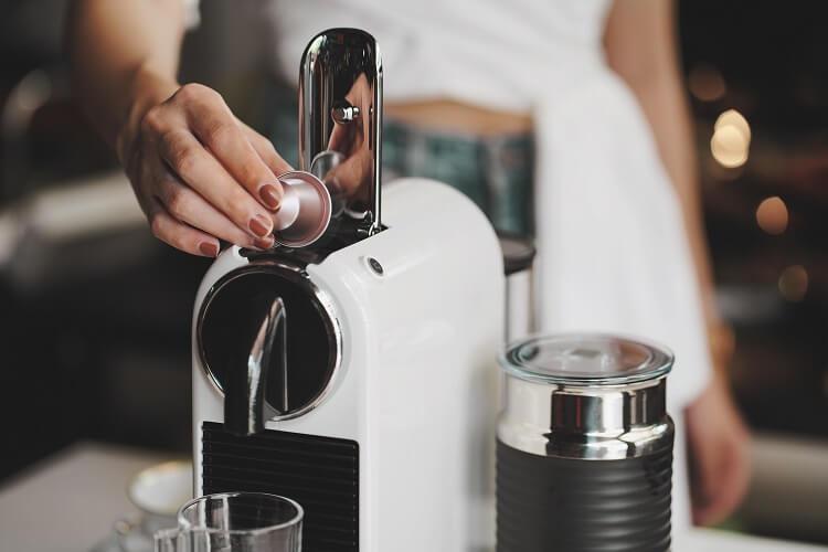Máquina De Café De Cápsula