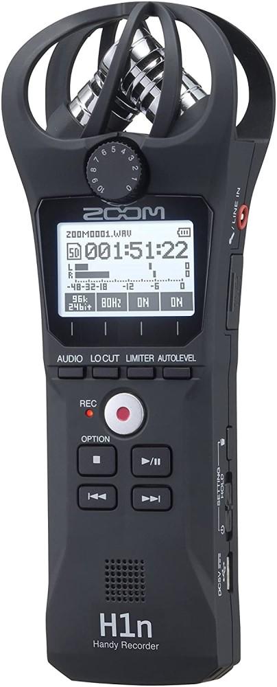 microfone para asmr Gravador Digital Portátil H1N - Zoom