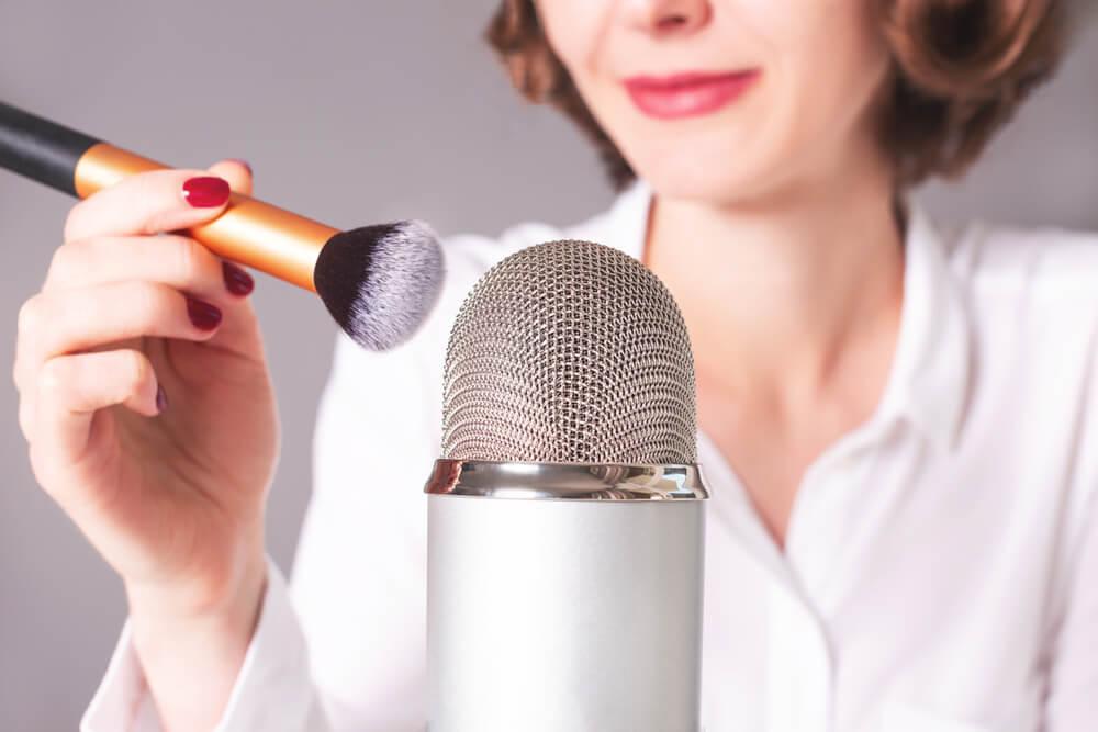Microfone Para Asmr