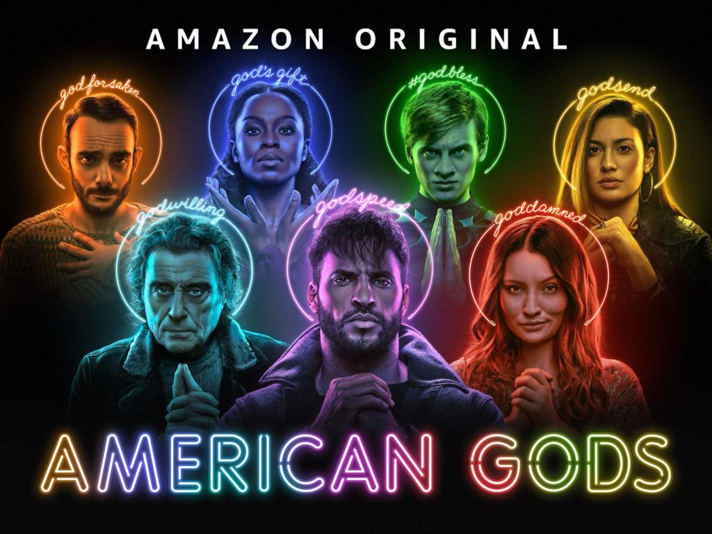 séries na amazon prime - american gods