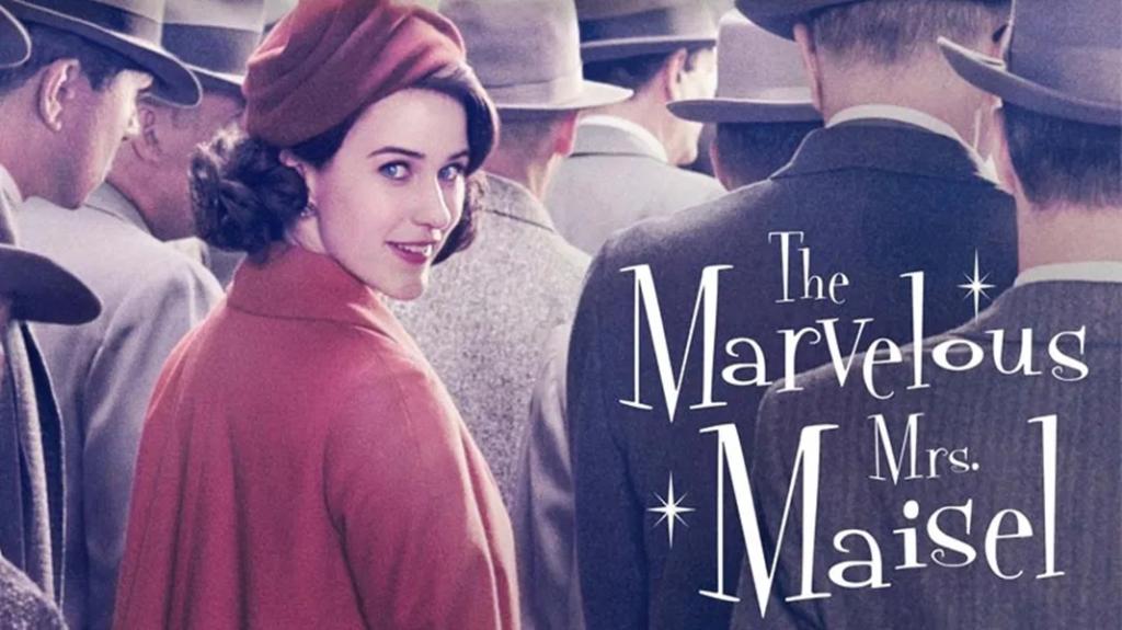séries na amazon prime - the marvelous mrs. maisel