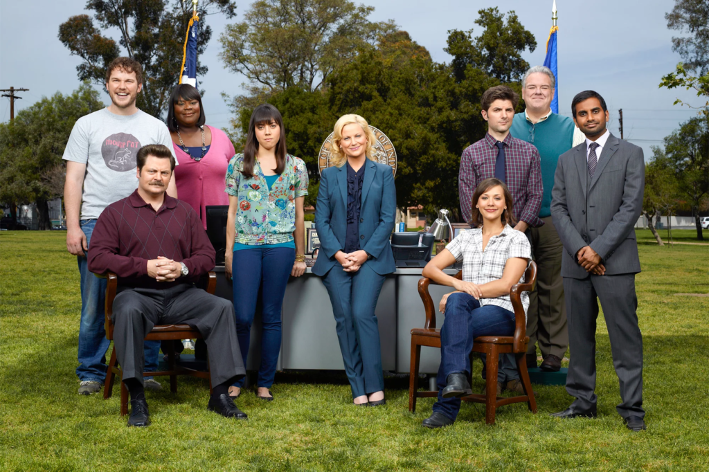 séries na amazon prime - parks and recreation