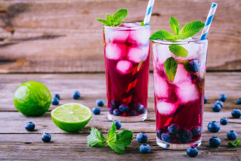 xaropes para drinks - mirtilo