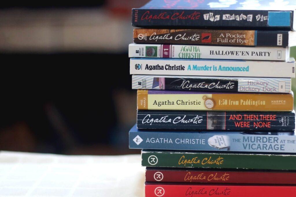 box de livros - agatha christie